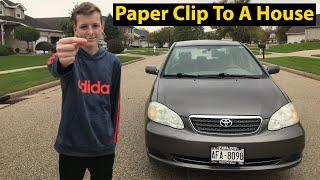 I Traded A Paper Clip Into A Car! (Episode 3)