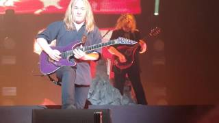 Nightwish 7 Days to Wolves Guitar Solo live in Amsterdam 20/11/2015