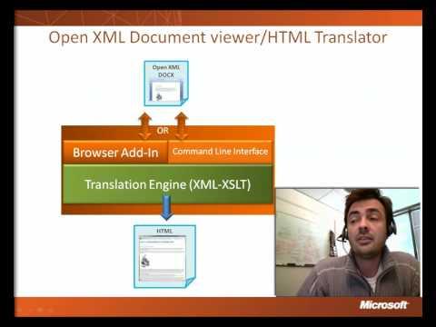 Demonstration Of The Open XML-HTML Translator