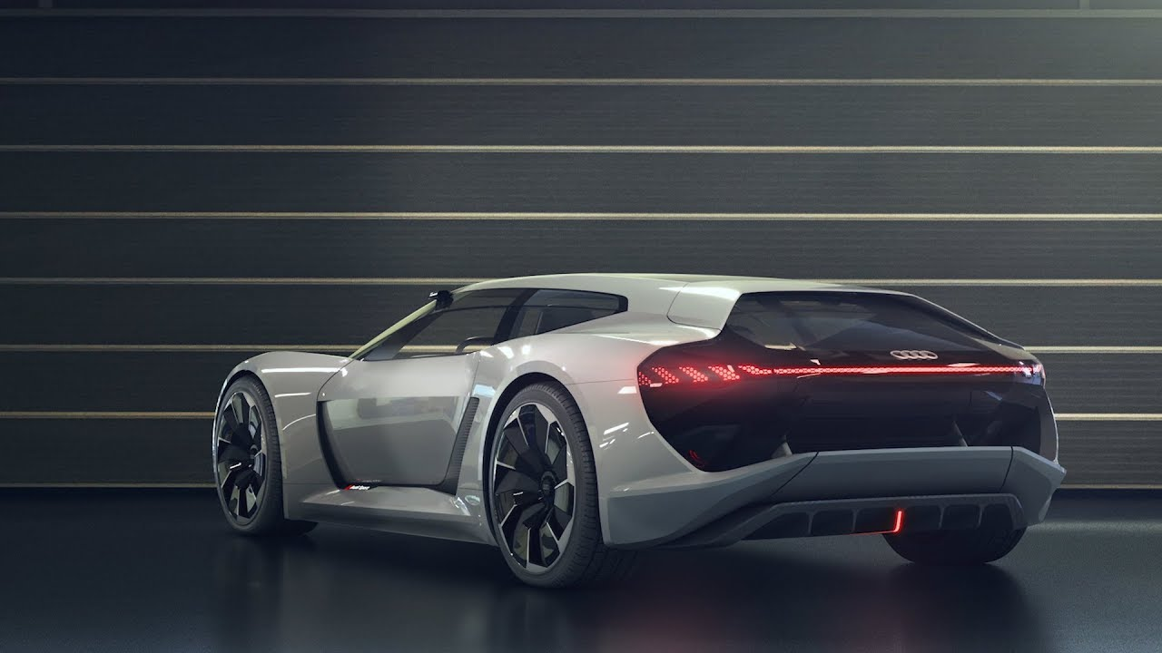 Audi Pb18 E Tron Concept Car Youtube