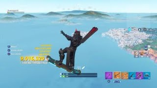 Fortnite crazy hoverboard glitch (idk)