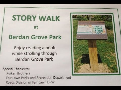Fair Lawn Kicks Off Opening Day Of Story Walk At Berdan Grove Park