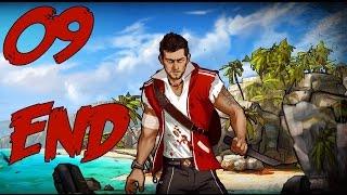 "Escape Dead Island Walkthrough Part 9 ENDING ""Ahm..Visions?"" Gameplay Playthrough"