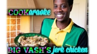 JERK CHICKEN! How to make oven baked Jerk Chicken with Big Vash. Easy recipe. Prepare in 15 minutes.