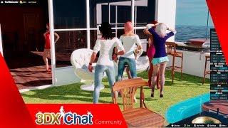 Online 3D sex game: 3DxChat
