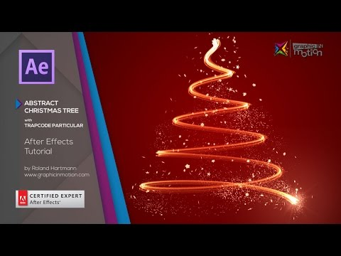 Abstract Christmas Tree with Trapcode Particular - After Efects Tutorial