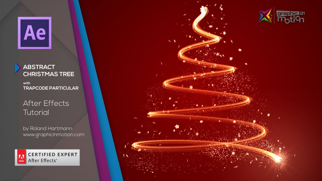 Abstract Christmas Tree with Trapcode Particular - After Efects Tutorial - YouTube
