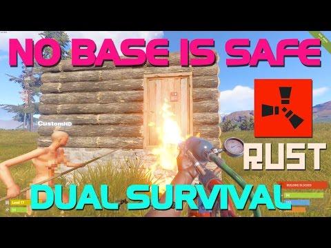 RAIDING EVERY WOOD BASE (Dual Survival pt.2) - Rust