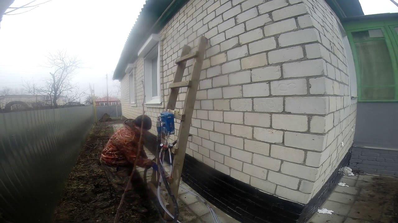 утепление домов жидким пенопластом в беларуси