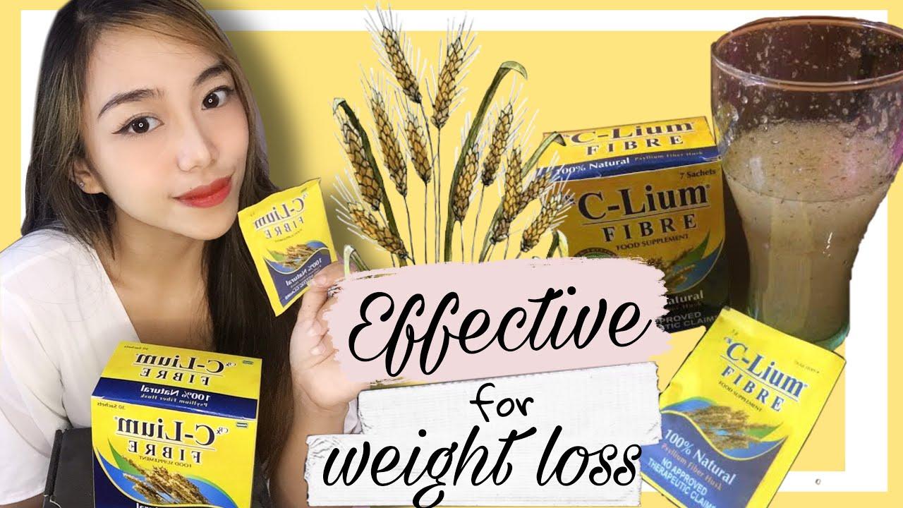 Lose Weight Using C Lium Fibre Ellaine Jy Youtube