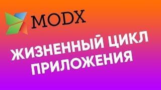 жизненный цикл приложения modx  Как работает modx