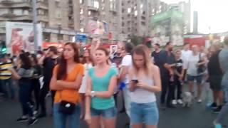 Protest 10 August 18 - PSD Ciuma rosie