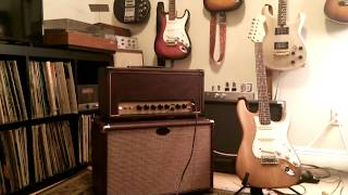 EL34 Cathode Biased Amp (Trainwreck Channel) Demo with a Les Paul