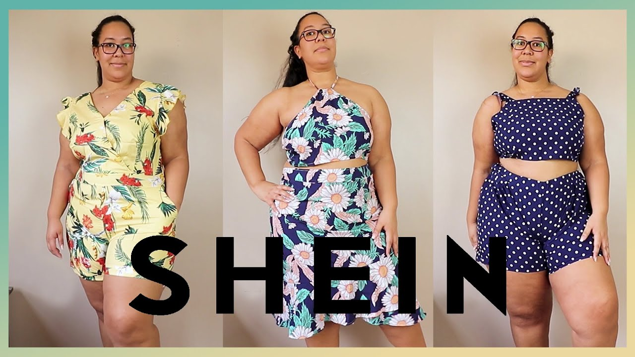 Probando Ropa De Shein Talla Grande Huge Cheap Shein Curve Haul Youtube