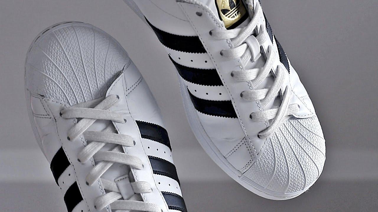 c038f91b Por qué son famosos los tenis Adidas Superstar? - YouTube