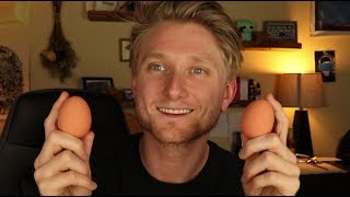ASMR With Eggs [Layered Sounds]