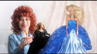Куклы Барби принцессы. Дизайны платьев. Модельер София