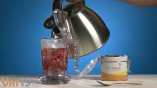 Buy here: http://www.vat19.com/dvds/ingenuitea-loose-leaf-tea-teapot.cfm?adid=youtube Please subscribe to our channel: ...