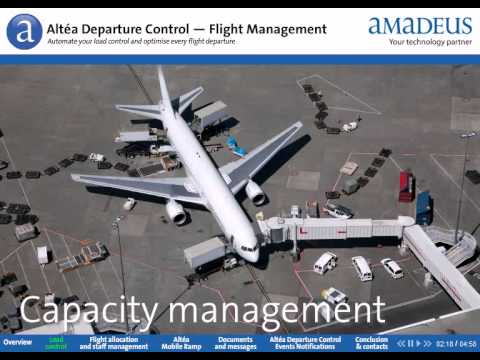 Altéa Departure Control – Flight Management