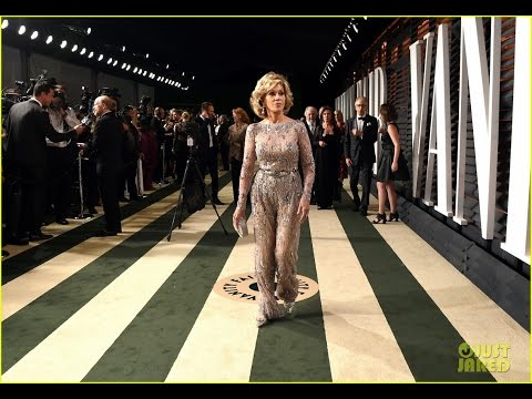 Jane Fonda Looks Amazing At Age Her Oscars Look