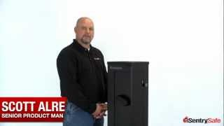 Sentrysafe Home Defense Center Gun Safe (60 Second Video)