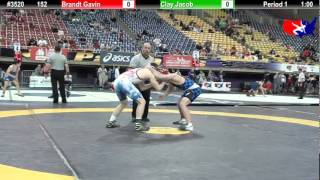 FSN 152: Brandt Gavin (Higher Level Wrestling) vs. Clay Jacob (Danzig mudbugs)