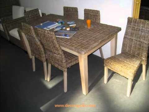 Muebles de fibra natural de indonesia feria h bitat for Muebles de indonesia