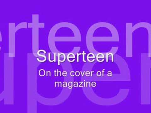Jive Jones - Superteen with Lyrics