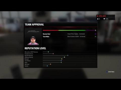 LIVE: F1 2017 Di Resta Career Mode #6