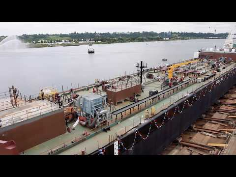All Aboard for a Cure Barge Launch