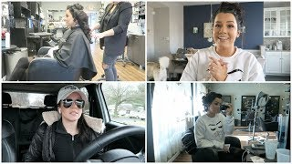 I had a panic attack  + another hair trial...
