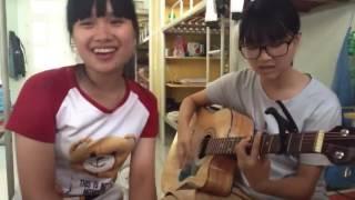 [Guitar] - Anh Nhớ Em Cover 2 bạn nữ xinh gái