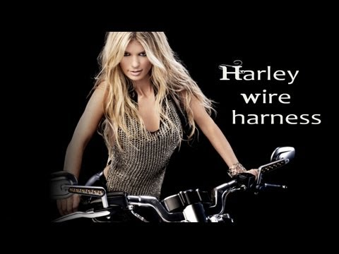 How to: Extend the handlebar wire harness, Harley Davidson Harley Davidson Wiring Harness Extension on