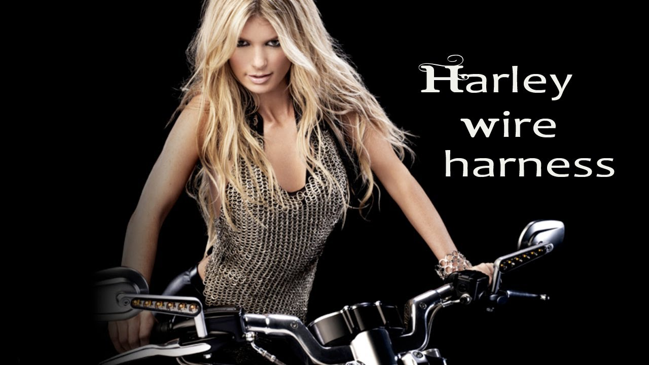 How to: Extend the handlebar wire harness, Harley Davidson Harley Davidson Handlebar Wiring Harness Extension on