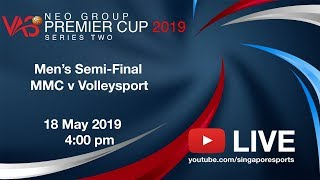 Men's Volleyball Semi-Final: MMC v Volleysport | NEO Group VAS Premier Cup Series 2