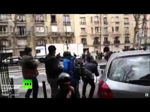 Paris: Inside brutal clashes