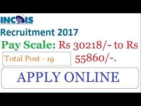 Government Jobs 2017 | ESSO-INCOIS Recruitment 2017