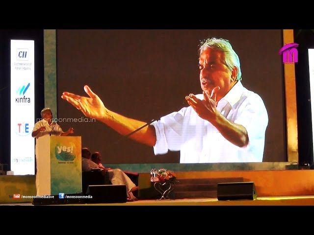 Young Entrepreneurs Summit 2014 Speech by Oommen Chandy, Chief Minister of Kerala
