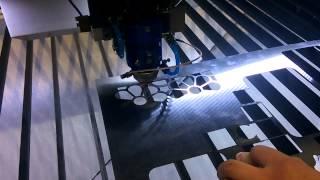150W CO2 лазер для резки металла и неметалла BCL1325BM режет нержавейку    Бодор Лазер(, 2015-07-23T08:52:09.000Z)