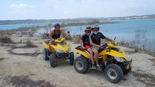 ESPANA - LO RUFETE LAKE 150CC OFF ROAD QUAD BIKING