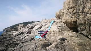 Strand vom Campingplatz Arena Stoja in Pula Istrien