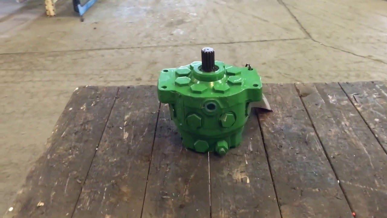 John Deere Hydraulic Pump : Ar remanufactured john deere hydraulic pump youtube