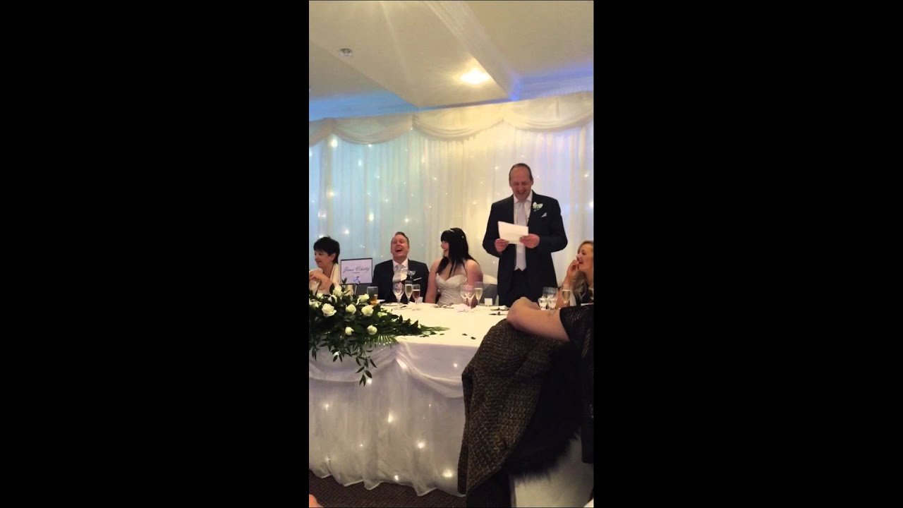Father Of The Bride Speech Content: Funniest Father Of The Bride Speech. Daughters Second