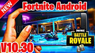 Fortnite Android Season 10 V10.30 Mod APK Working In Incompatible Devices GPU/VPN Error Fixed |
