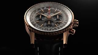 Navitimer B03 Rattrapante 45 Gold