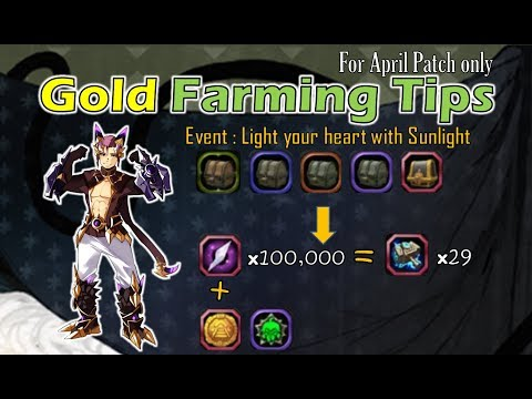 [Tips] Farming Gold (event : Light Your Heart With Sunlight) - SpeedColie - Dragon Nest SEA】