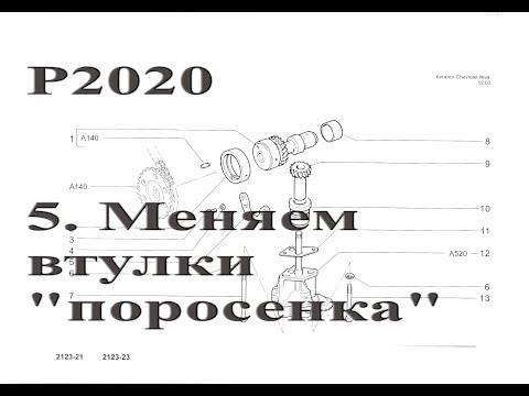 "Ребилд 2020. Замена втулок ""поросёнка"""