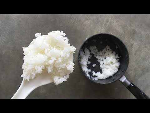 How To Cook Rice In A Pot For One Person Youtube