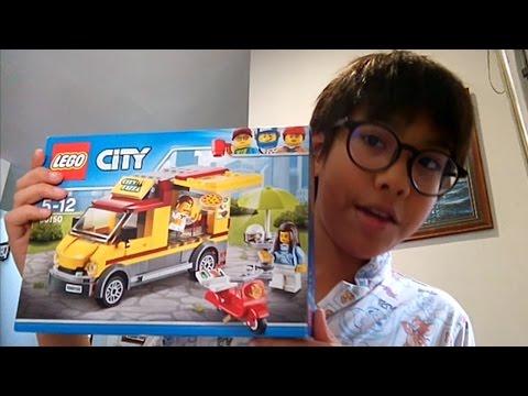 ช่วงเเกะของ - Lego city 60150 คนขายpizza 1150