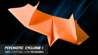 FLYING BACK PAPER PLANE - Let's Make The Psychotic Cyclone